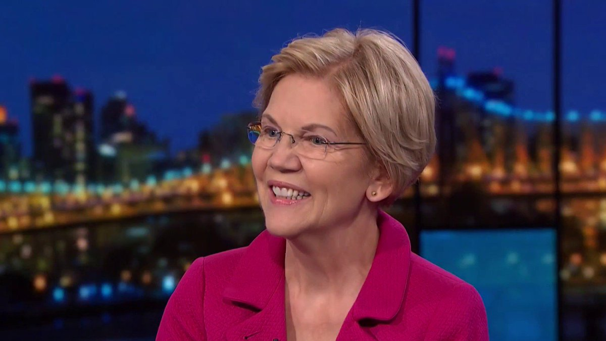 Live now on @MSNBC: Rachel @Maddow goes one-on-one with 2020 candidate Sen. Elizabeth Warren https://t.co/WLHkwFMODM