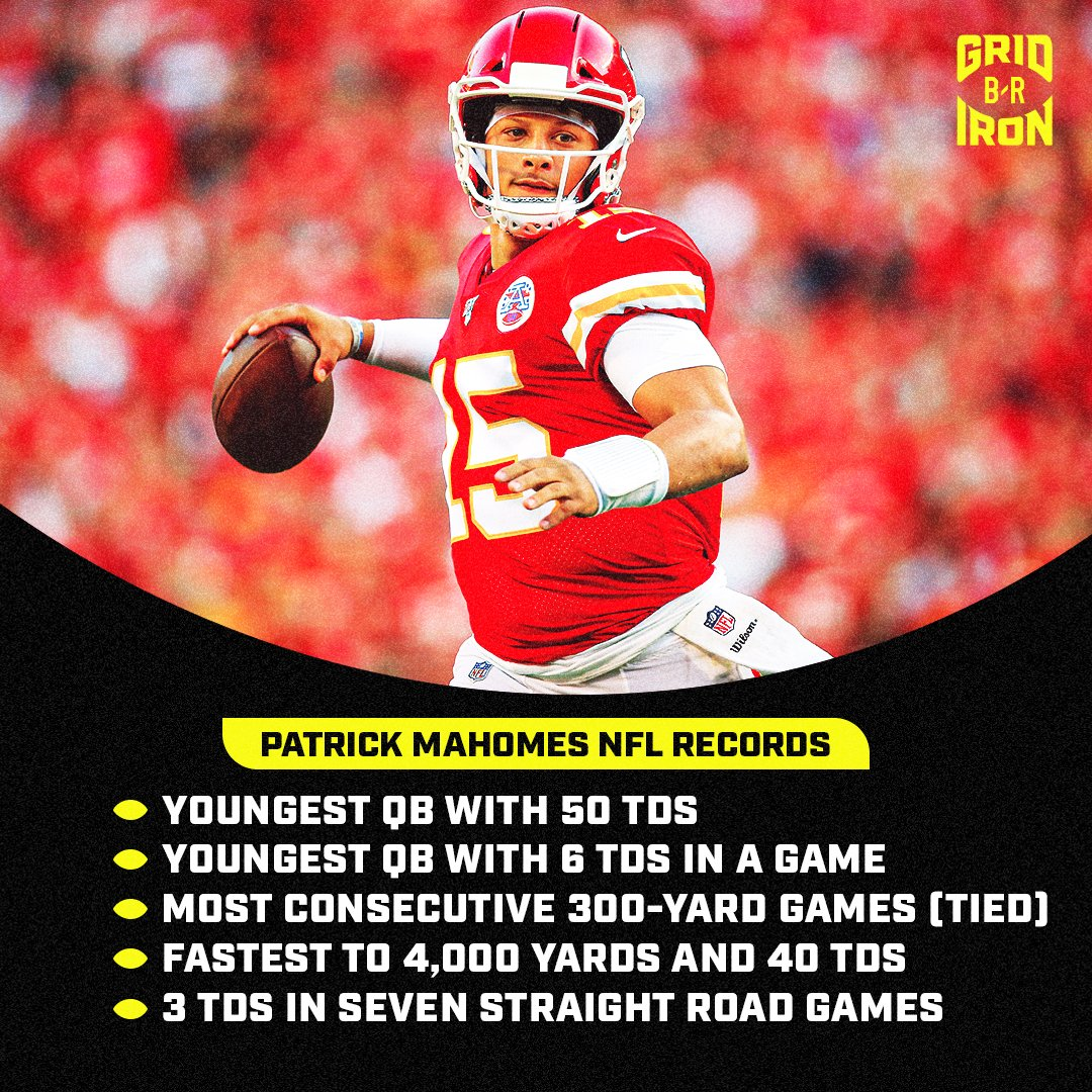 Patrick Mahomes did all of this before turning 24...  Happy Birthday to a legend in the making 🎂  (via @brgridiron) https://t.co/fa0q4uhnfc