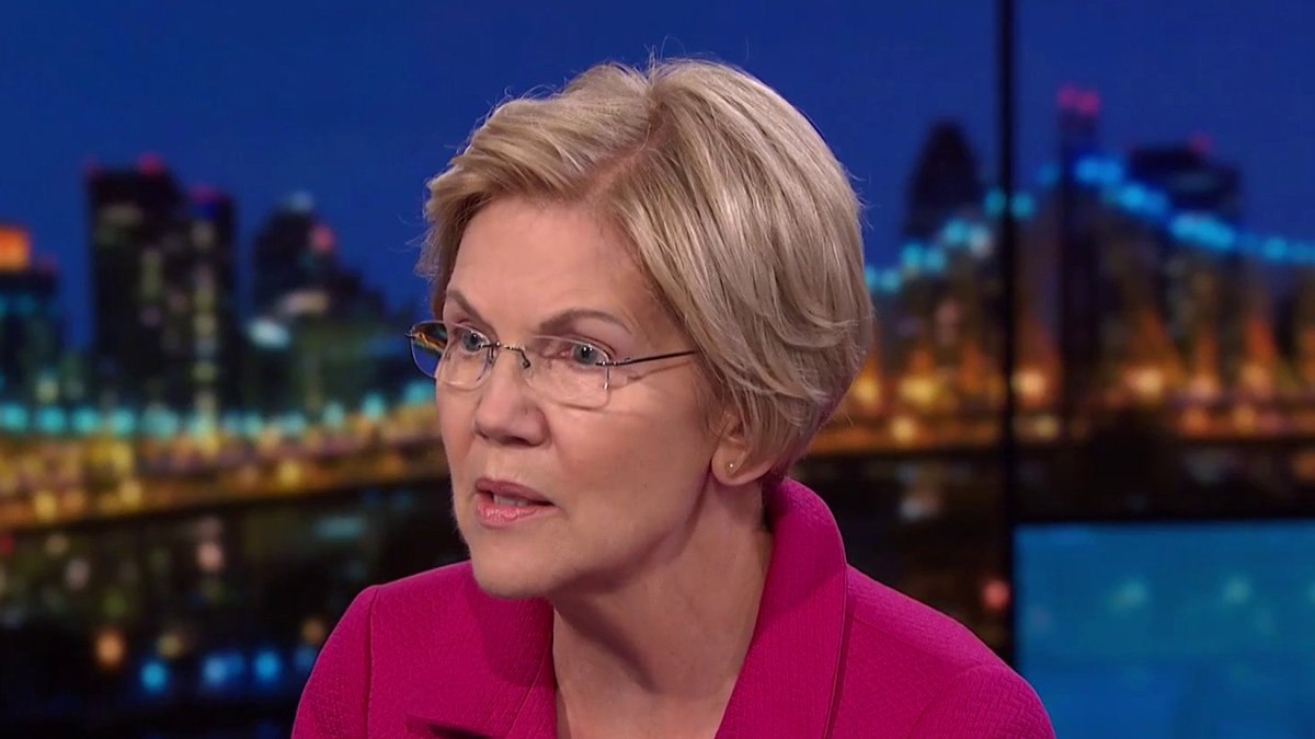"""This is our moment. We can't spend it afraid... we can't spend it nibbling around the edges of whatever's broken."" Sen. Elizabeth Warren tells @Maddow that now is the time for big structural change. https://t.co/wp9HUcdqZj"