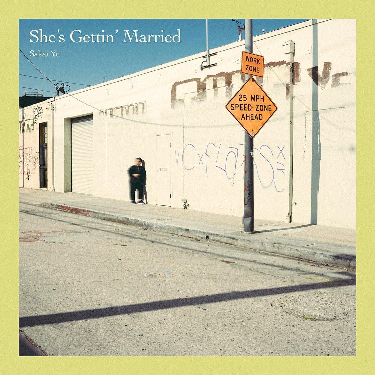 #さかいゆう 新曲「She's Gettin' Married」本日配信スタートです。今作は、#Incognito の #Bluey がプロデュース!さらに #Jamiroquai のベーシスト #StuartZender も参加!ぜひお聴きください!