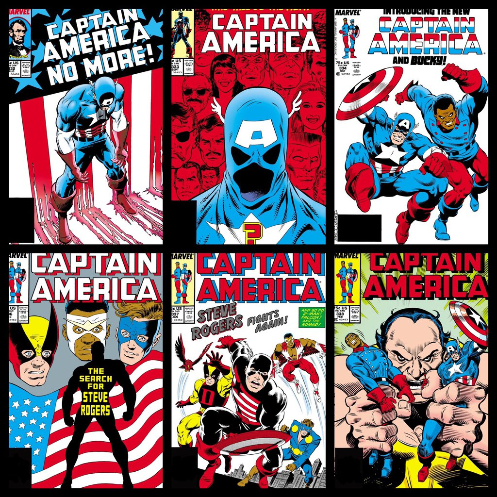 Andrew Reiner Sur Twitter Captain America Streets Of Poison Is The Series That Made Me A Lifelong Fan Of Comic Books