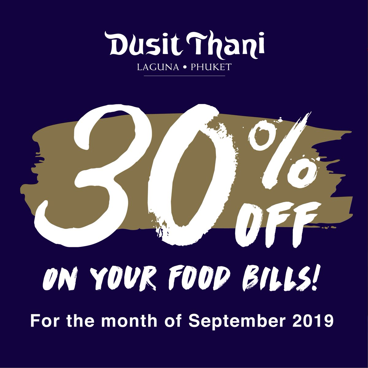 """Enjoy our """"SEPTEMBER OFFERS!""""  #WeeklyBuffet 😋 #AlaCarteMenus 🍽 #20%OFFdrinks   -For more information please contact us via- ☎️ 076-362999 ext 7303 📧 dtlpfb@dusit.com 📩 Inbox https://t.co/NA1N3IOFCu"""