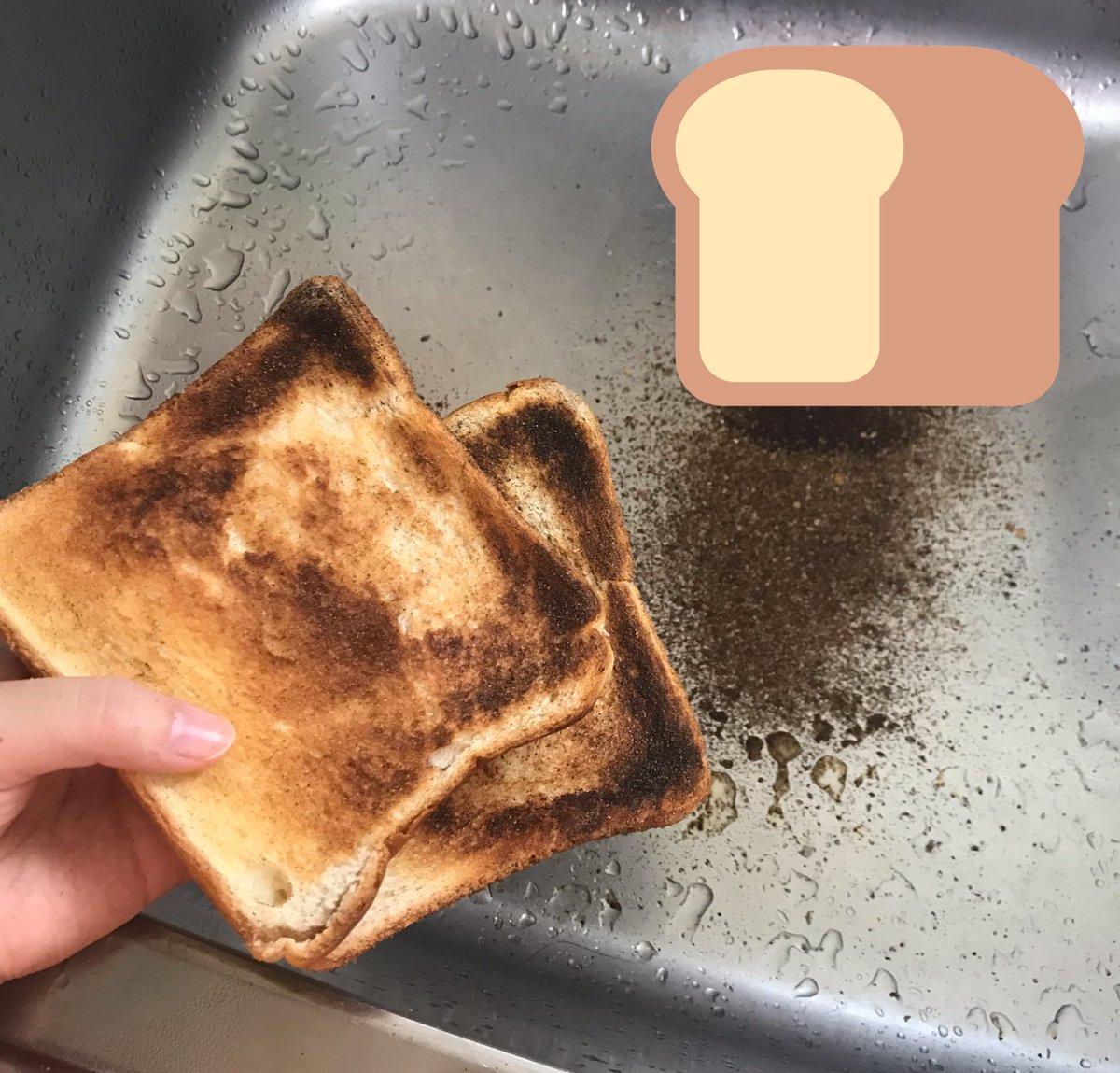 た パン 焦げ