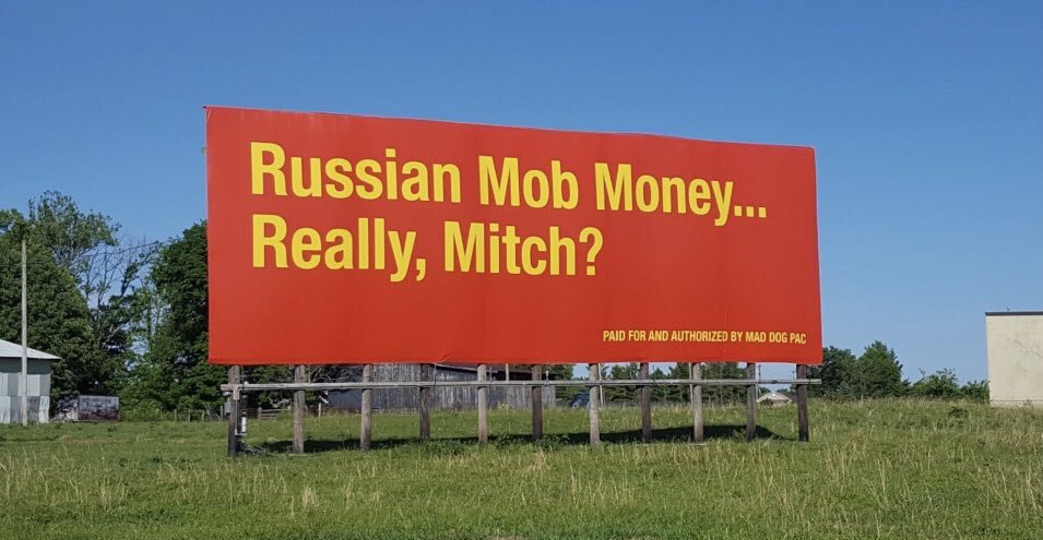 Is it any surprise #MoscowMitchTraitor is trending