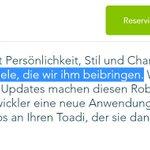 Image for the Tweet beginning: Als #Mähroboter dann vielleicht doch