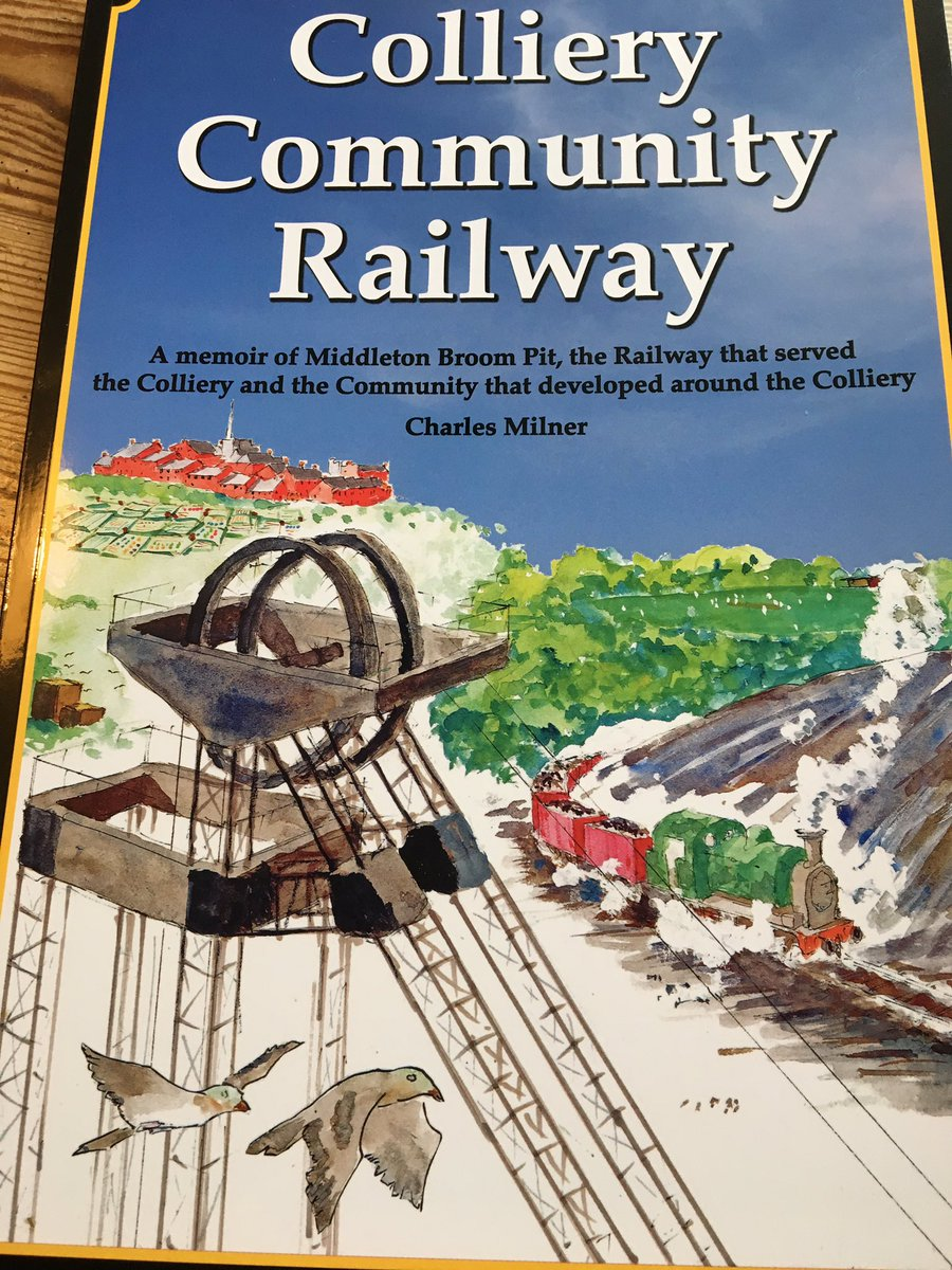 Fantastic launch of @MiddletonRailway s new book on the incredible of history of the world's first commercial steam railway here in #southleeds Many thanks to all involved @groves_kim Cllr Paul Truswell @SouthLeedsLife