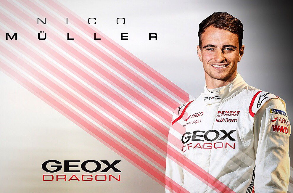 here we go, a new adventure is starting! I am very excited to be racing for @GEOXDRAGON in Season 6 of @FIAFormulaE ⚡️👊🏻 #nm51 #owneverysecond #fullpull #formulae #geoxdragon #electrified #newchallenge