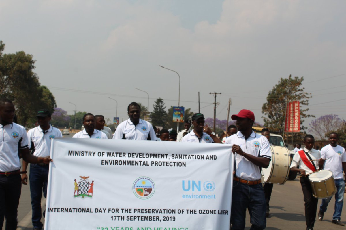 32 YEARS AND HEALING—A CALL TO ADOPT OZONE FRIENDLY SUBSTANCES! #ZEMA joins international community in commemorating the 2019 International Day for the Preservation of the Ozone Layer, under theme 32 Years and Healing @UNEnvironment @RuthBWitola @friphiri @msimuko