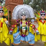 Image for the Tweet beginning: The Chhau dance of Eastern