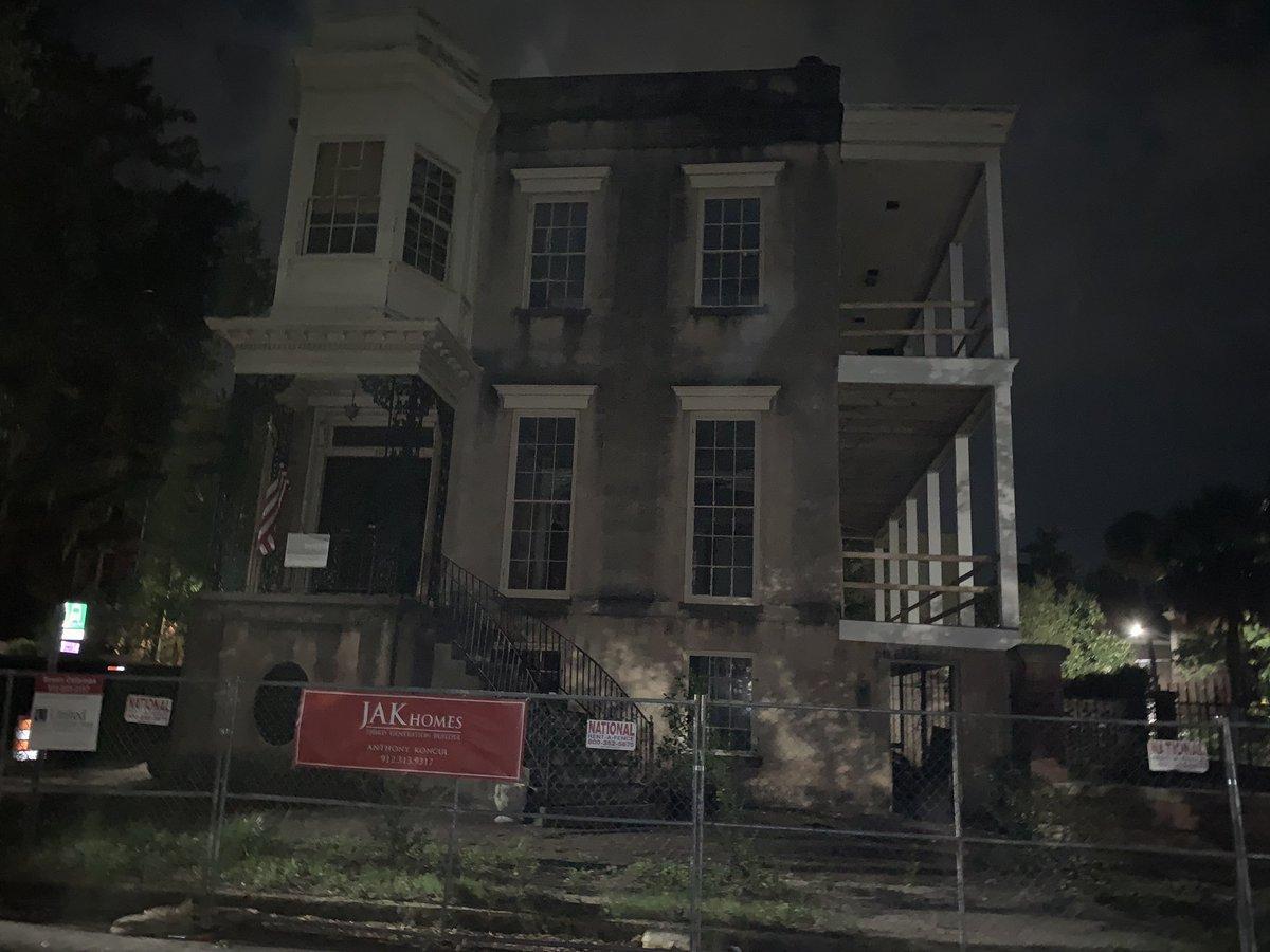 @NoahPaulLeGies Considered one of the most haunted in Savannah