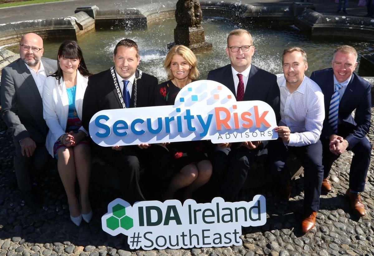 Security Risk Advisors to establish European HQ & Security Operations Centre in Kilkenny, creating 52 new jobs. @secrisk @IDASouthEastReg bit.ly/2m18b3D