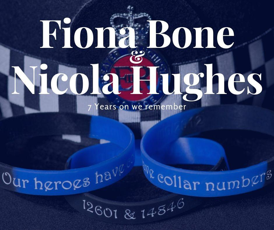 Remembering Fiona Bone and Nicola Hughes. #NeverForgotten