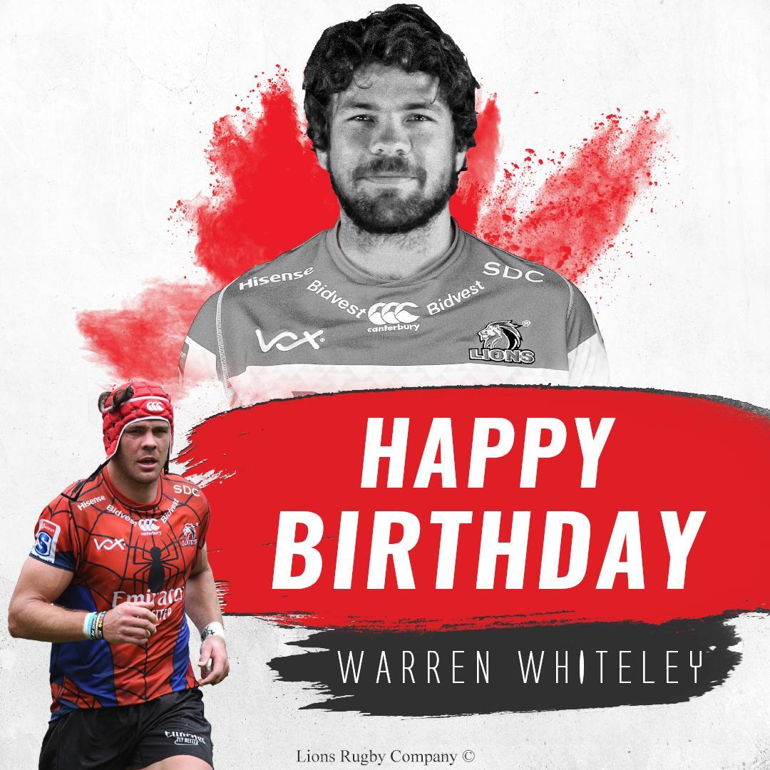 Hey #LionsPride, help us in wishing Warren Whiteley a happy birthday today!