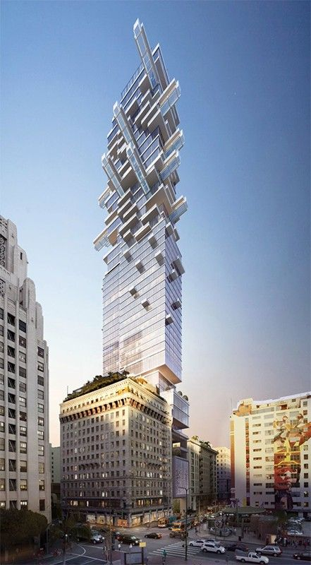 Fifth and Hill; rendering courtesy of JMF Development