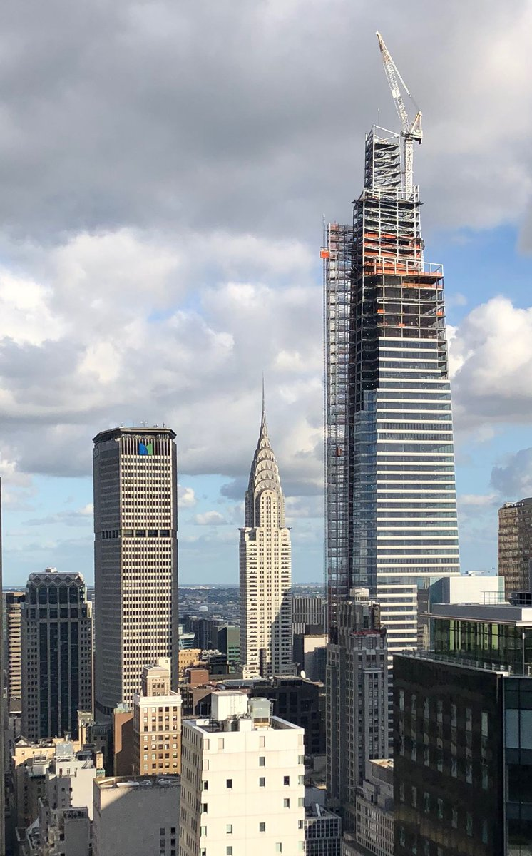 One Vanderbilt dwarfs the Chrysler Building and MetLife Building; Photo by Michael Young for New York YIMBY
