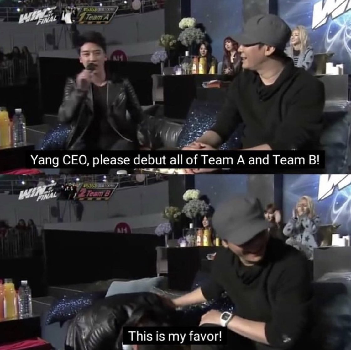 Seungri have been nothing but supportive to all YGE groups not just him but all of BigBang. It breaks my heart seeing yg fandoms spreading false info& dragging them in every chance they get!
