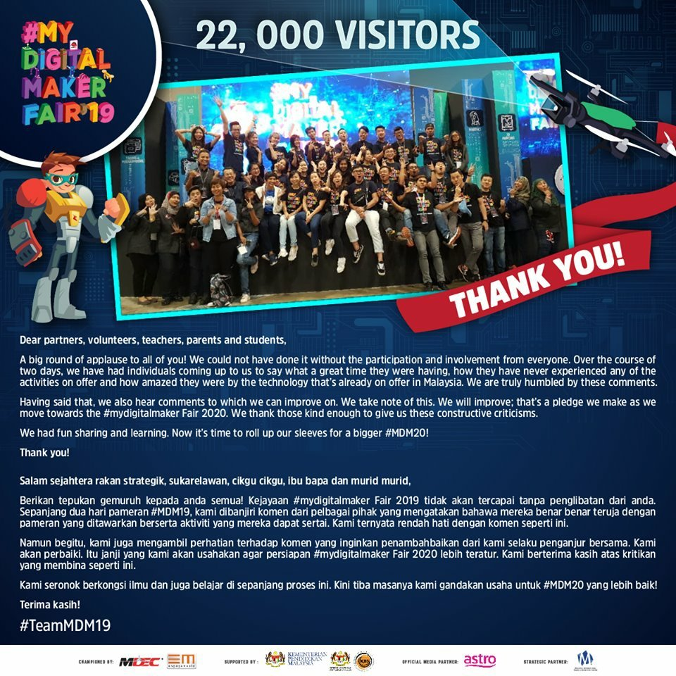 Makers Fair 2020.After Two Days Of Receiving Over 20 000 Visitors The