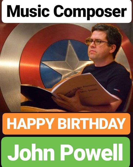 HAPPY BIRTHDAY  John Powell
