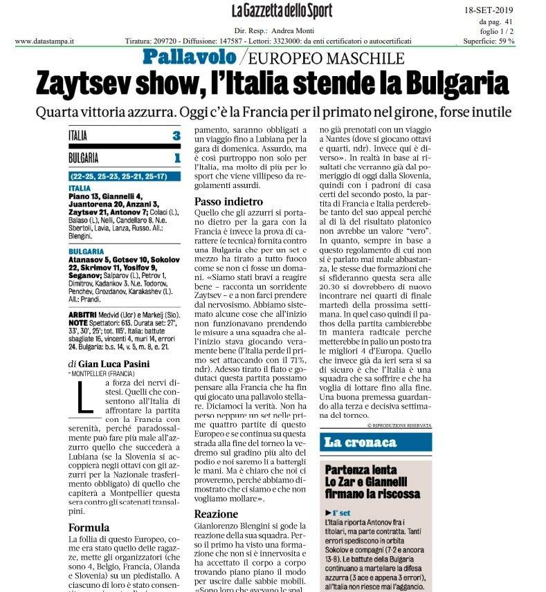 #ItaliaBulgaria