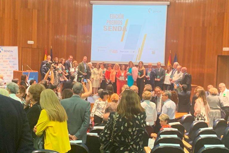 test Twitter Media - ¡Ayer acudimos a la entrega de #PremiosSENDA🏆 de @Grupo_SENDA!  🏅Donde fueron premiados @GrupoBallesol, @ILUNION, @EulenFlexiplan y @agathardlp , y fue presidida por la secretaria de Estado de @Ssocialesgob , Ana Isabel Lima, y la presidenta de Grupo SENDA, @MatildePelegri https://t.co/xaT7yknoSZ