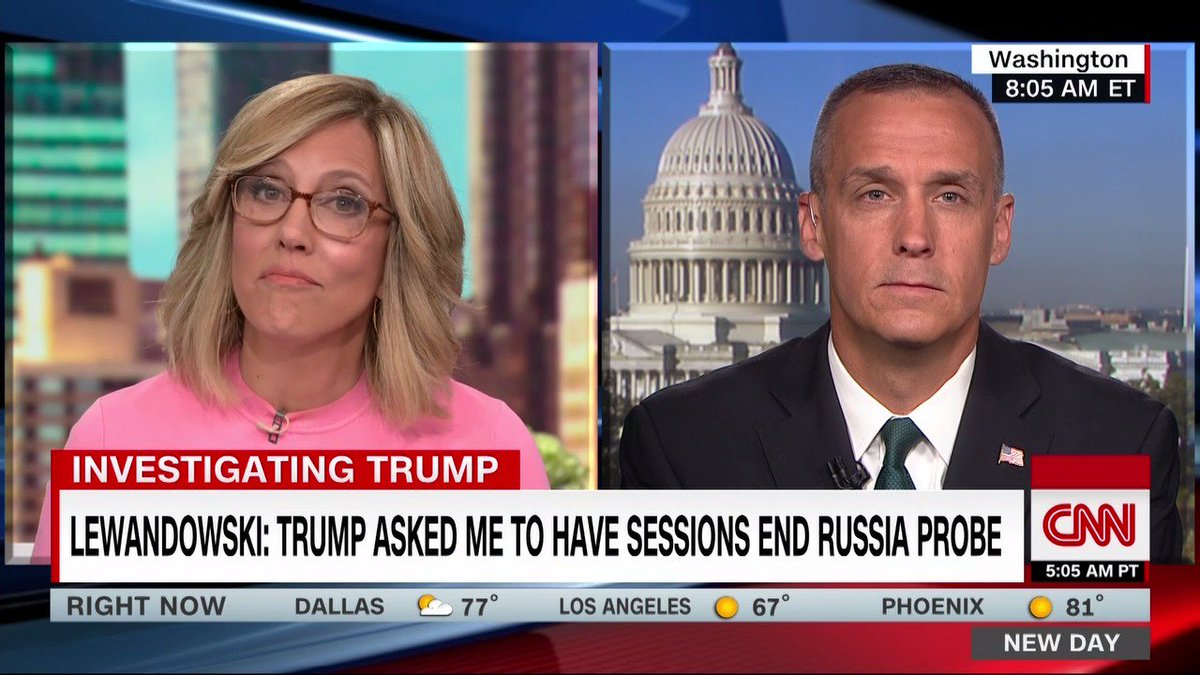 Corey Lewandowski: The Mueller report was very clear. There was no collusion. There was no obstruction.  Alisyn Camerota: Thats not what the Mueller report said, Corey.  Corey: It absolutely says that...  Alisyn: ... Did you read the Mueller report?  Corey: No, I never did