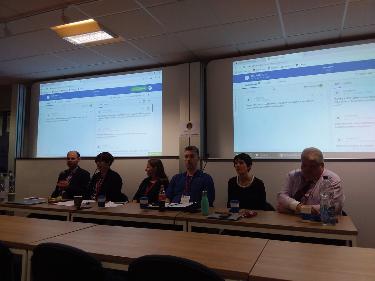 test Twitter Media - Hear how institutional support for RSEs  @SES_Consortium universities  Susan Littleson (HR) and Jeremy Cohen from @imperialcollege, @DavidPriceUCL,  Alys Brett @ResearchSoftEng, John Robinson @RSGsoton  are on the panel! #ukrse19 https://t.co/48Yph7sQga