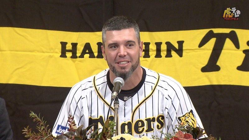 10年間、ありがとう。本日行われたメッセンジャー選手の引退会見、全編を特典映像に公開しました。 #hanshin #虎テレ #阪神タイガース