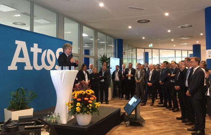 Today @ThierryBreton inaugurates our #AI Lab and Business Technology Innovation Center #BTIC ...