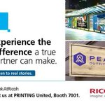 Image for the Tweet beginning: Visit us @printingunited in booth