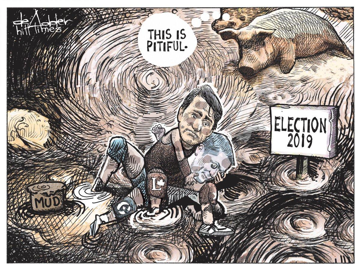 Ta-da! @deAdders critical look at #Elxn43 @TheHillTimes