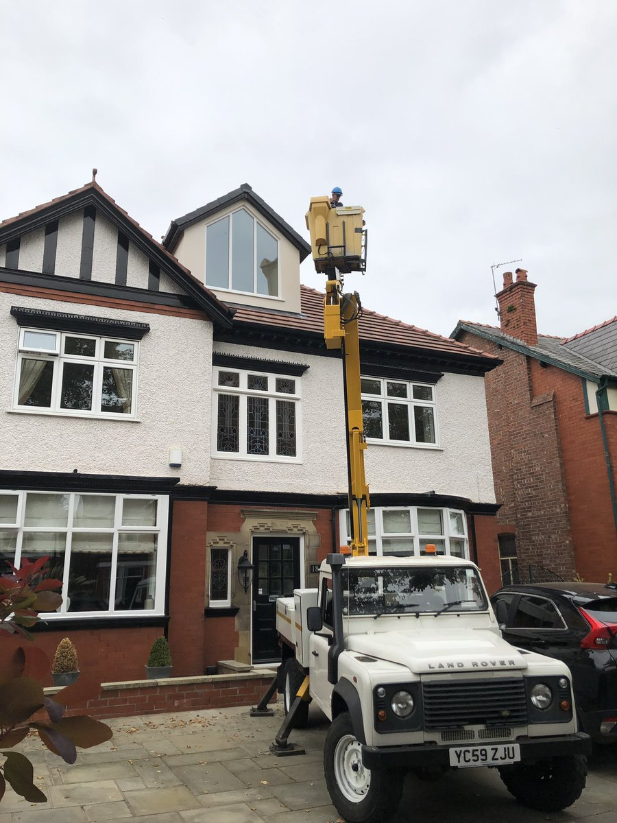 test Twitter Media - High level surveying team out today. If you have a high level defect you need specialist advice on from a chartered surveyor then contact us at our Southport office. #charteredsurveyors #southport #paulennis https://t.co/2tzpQpNK3O