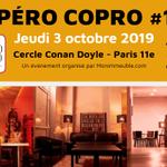 Image for the Tweet beginning: #AperoCopro18 : avez-vous réservé votre