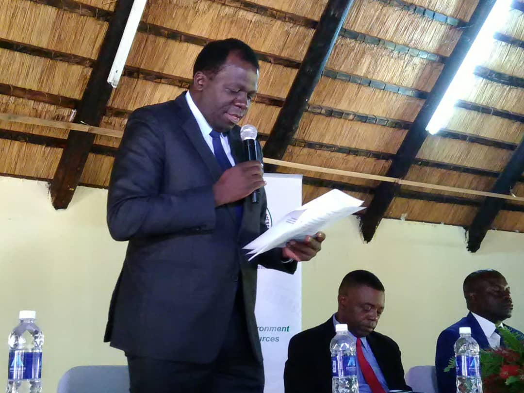 """Ozone day 2019: #ZEMA DG @msimuko acknowledged global and national initiatives to curb ozone depletion, and assured that """"ZEMA is working on behalf of the Government as part of fulfilment of its obligations to the Montreal Protocol..."""" @UNEnvironment @RuthBWitola @friphiri"""