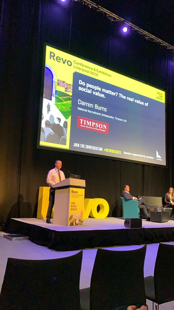 """Timpson - """"10 million people in UK have offended greater than  a motoring offence - too big a group to ignore....Former prisoners and marginalised groups in employment are 5 times less likely to reoffend."""" #RevoInsights"""