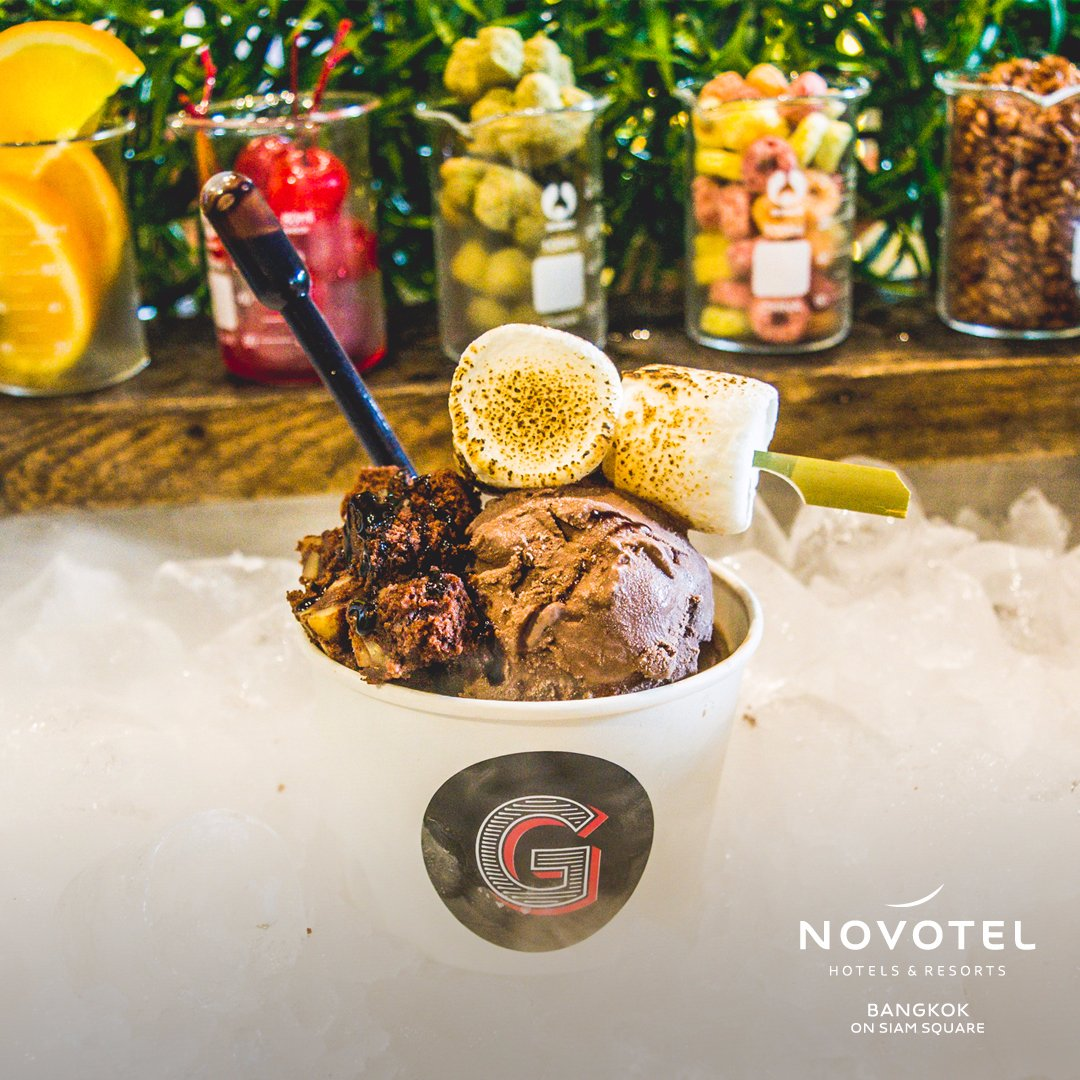 🍨Calling all ice cream lovers! Come and try our all-new nitrogen ice cream menu from today at the Gourmet Bar. 📍https://t.co/HanTmhGwLw #NovotelBkk https://t.co/qB4Oz1LfQc