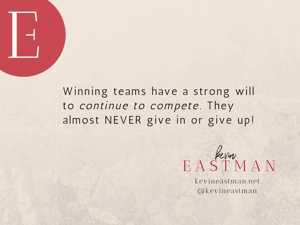 True competitors mindset!