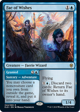 More wishes keep coming after the past few sets, this one repeatable. More previews at mtgpreviews.com #MTGEldraine