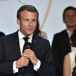 Image for the Tweet beginning: Macron in visita a Roma