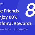 Image for the Tweet beginning: Refer a friend and earn