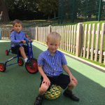 Our Pre-Prep pupils have been making the most of the September sunshine.😊☀️ #OutdoorPlay #outdoorfun #vitaminD #playtime
