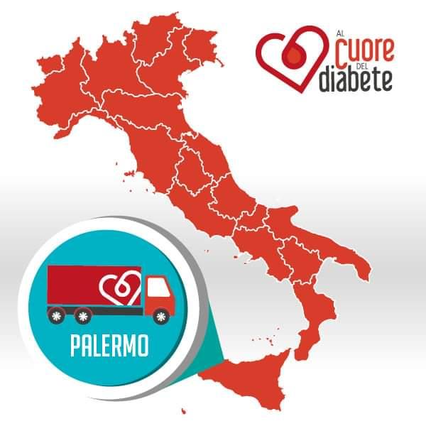 #UniPa patrocina @alcuore_diabete, campagna di informazione sulla prevenzione del rischio cardiovascolare nelle persone con diabete  📌Presentazione istituzionale➡ domani 19/9 h10 in Sala delle Capriate, Steri - piazza Marina 61  🚐 👨🏻⚕Controlli gratuiti h9-18 in piazza Verdi