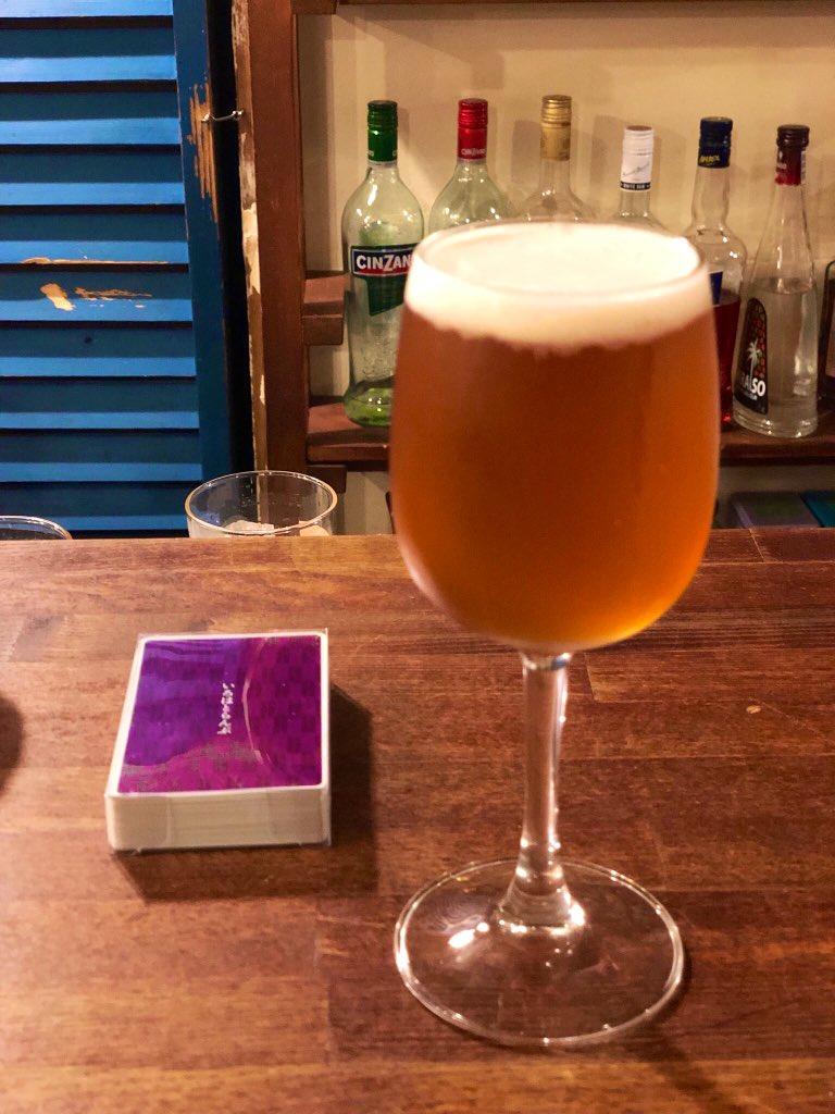 クラフトビール Tokyo Blues 飲んでるるる♪ ほんと #kurumari でクラフトビール飲めるようになったの嬉しいわーっ❗️しかも飲み放題適用だしっ❗️