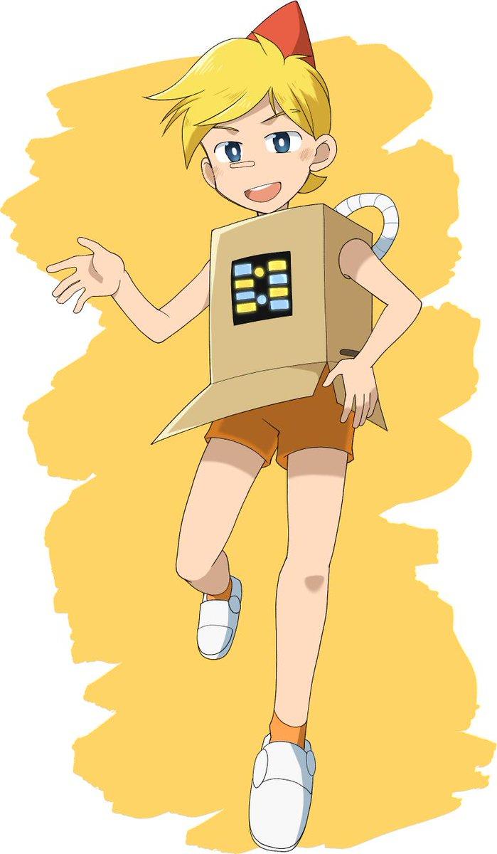 あはれ名作くんのノキオが可愛かったので描いてみました(*´▽`*)youtubeで配信されていますので見て