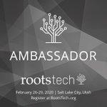Image for the Tweet beginning: I am an Ambassador for