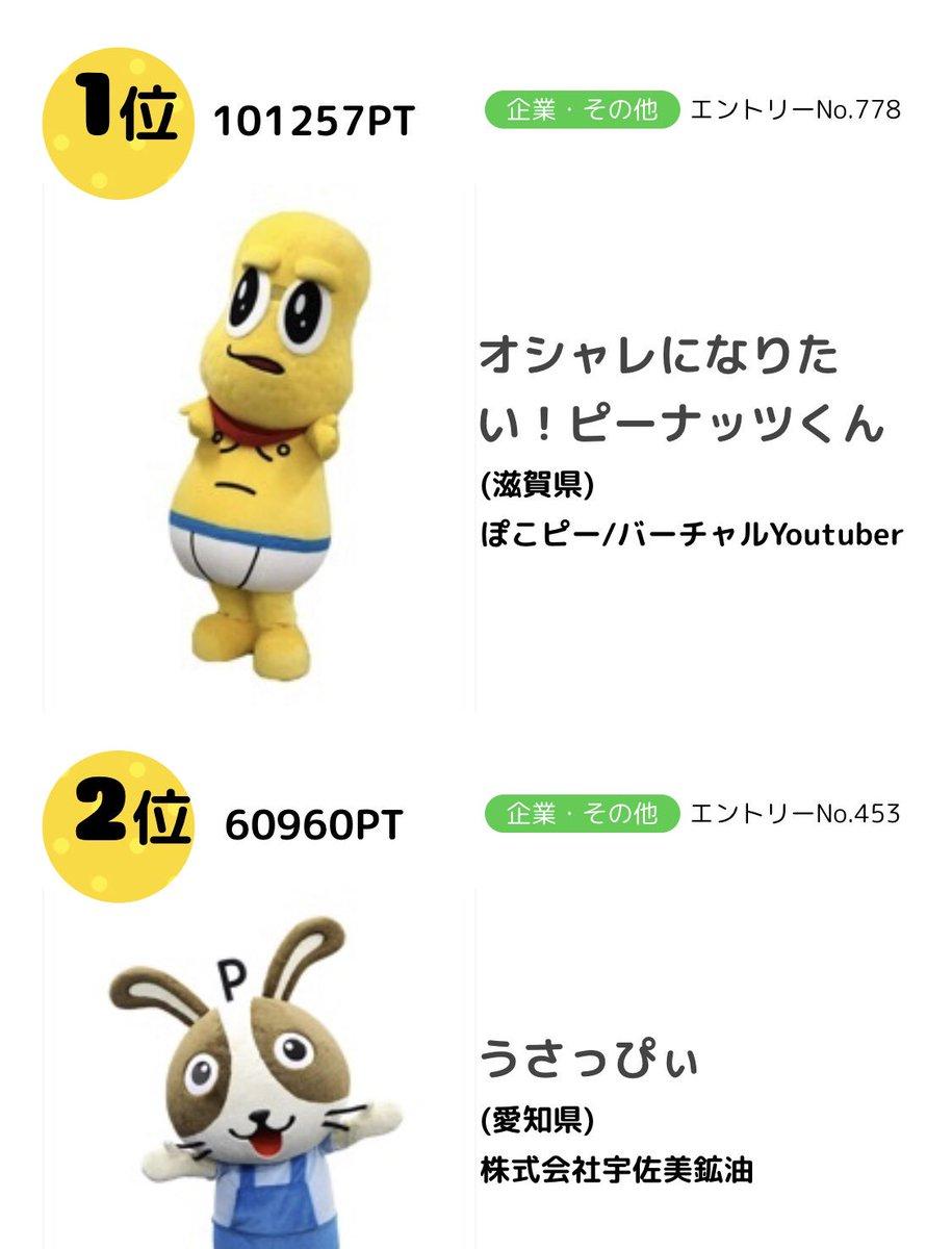 🎉ついに10万票突破ナッツ🎉ありがとナッツ〜😂この調子でガンガンいくナッツ!!うさっぴぃに、負けない!!!!うさっぴぃに、負けない!!!!うさっぴぃに、負けない!!!!#ゆるキャラグランプリ2019