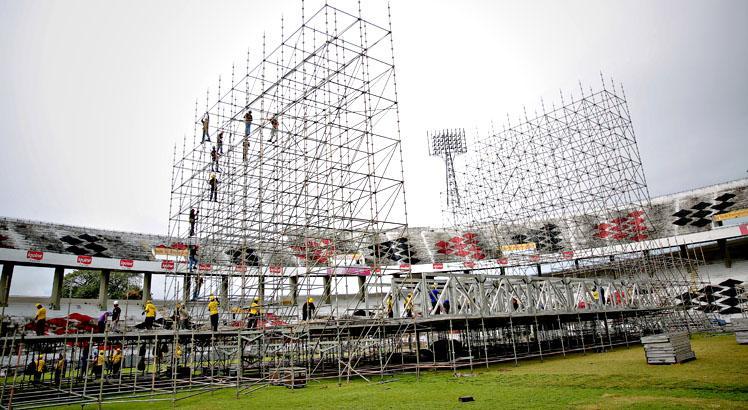 Megaestrutura é marca de show de Bon Jovi no Recife