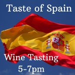 Wednesday Wine Tasting! 5-7pm The Rioja region of Spain is home to over 600 wineries. Varietals from this important region include tempranillo and garnacha. Join us for some great selections from Rioja. Cost: Charity Donation benefiting The American Heart Association