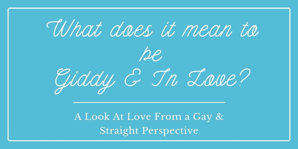 GIDDY, A Privileged Look At Straight Love & A Look at Love From an LGBTQ Perspective A tiny window into how some humans experience LOVE Those who are STRAIGHT & Those who are LGBTQ A joyful collaboration between 2 people who want to understand each other better #OneVoice1