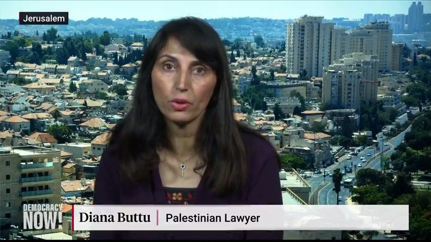 """It's not clear who will be the ultimate victor,"" Palestinian attorney @dianabuttu says of the Israeli election, ending with no clear majority for Benjamin Netanyahu or his main rival Benny Gantz. ""I can tell you who will be the ultimate loser, and that's the Palestinian people."""
