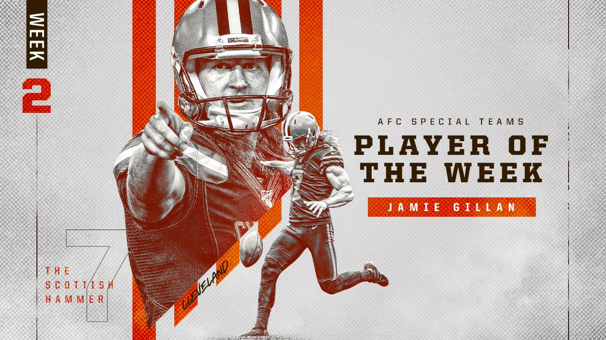 """Cleveland Browns on Twitter: """"The Scottish Hammer ..."""